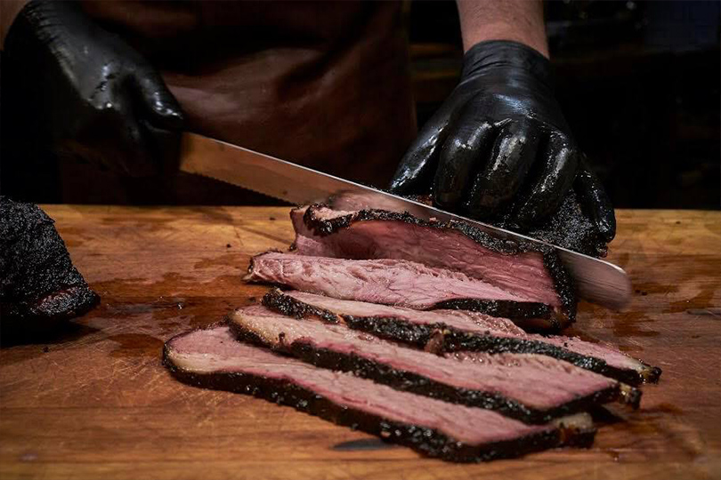 Гастротренд: еда навынос вресторанных лавках. Brisket BBQ