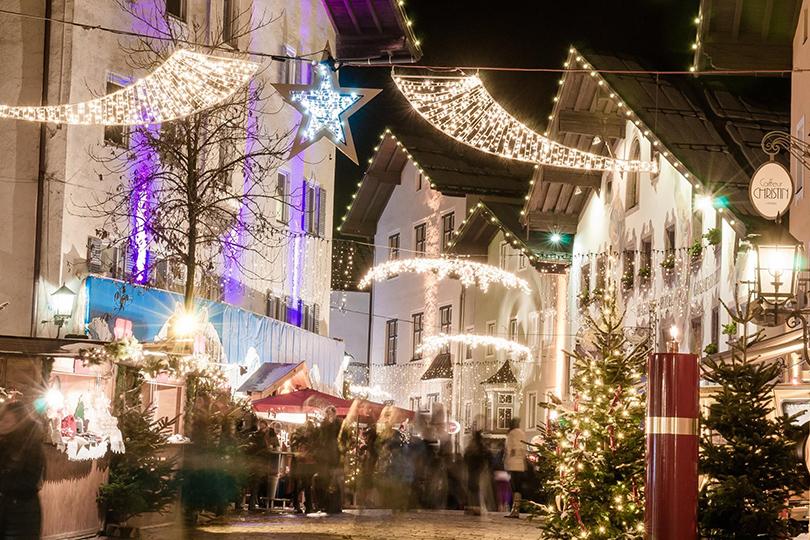 Самые лучшие рождественские базары Европы: Кицбюэль