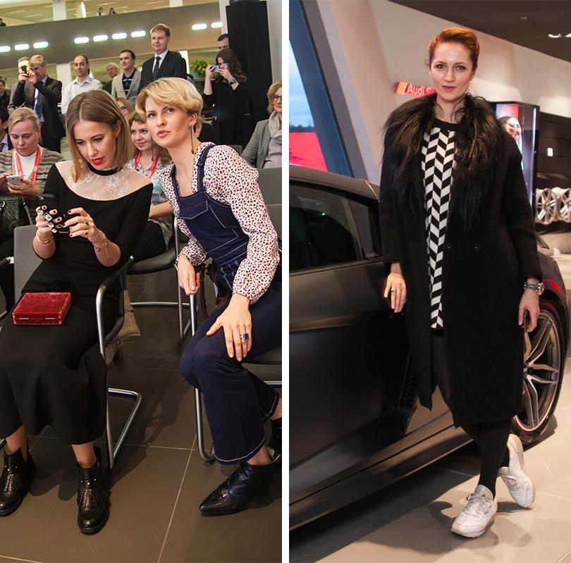 Ксения Собчак и Полина Киценко, Виктория Исакова