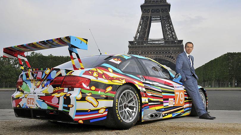 Джефф Кунс. Арт-кар BMW M3GT2, 2010г.