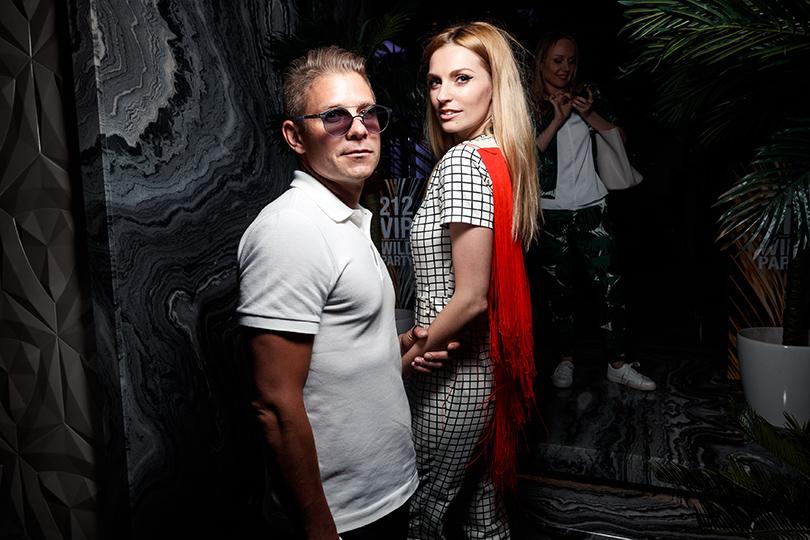Светская хроника: вечеринка Carolina Herrera 212 VIP Wild Party. Митя Фомин и Саша Савельева