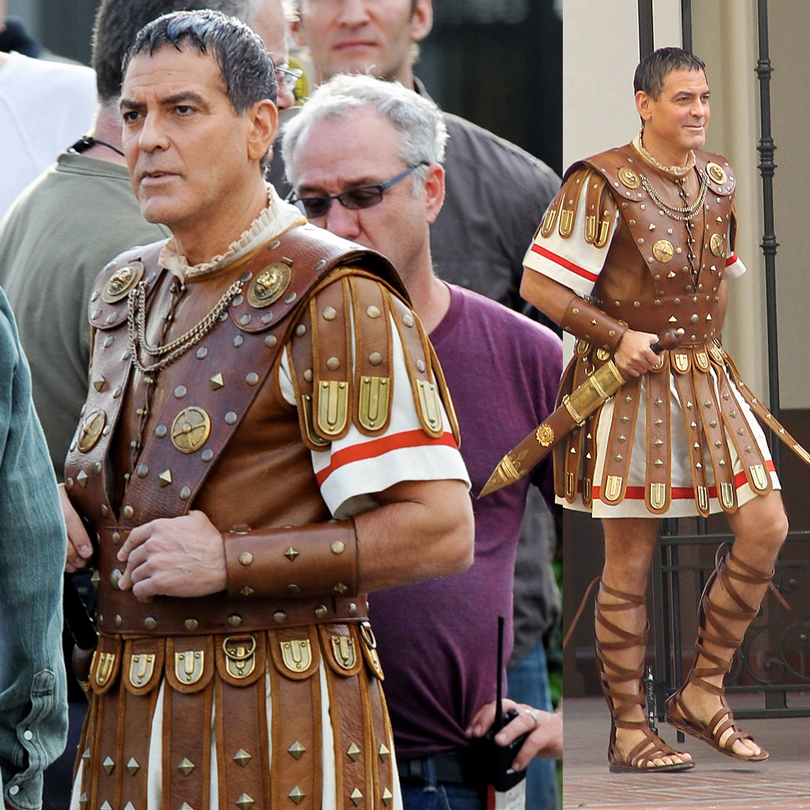 Кадр из фильма «Да здравствует Цезарь!»: Джордж Клуни