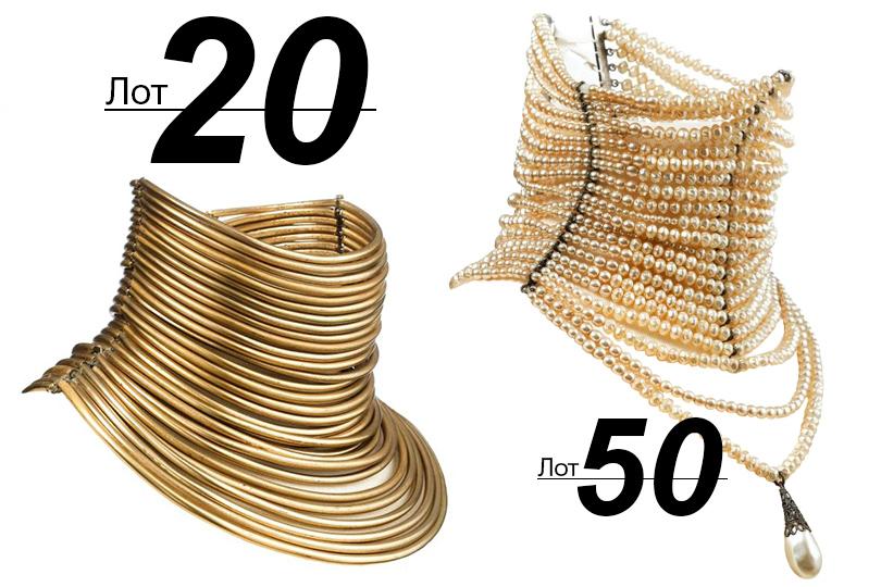 Сподиума— нааукцион: Sotheby's выставил наторги прототипы украшений споказов Dior. «Прототип флакона J'Adore» (лот 20)