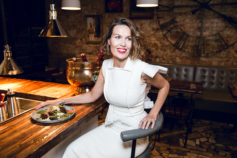 Let's Talk Food: девичник Москва-Петербург в ресторане Hamlet+Jacks. Светлана Мельникова
