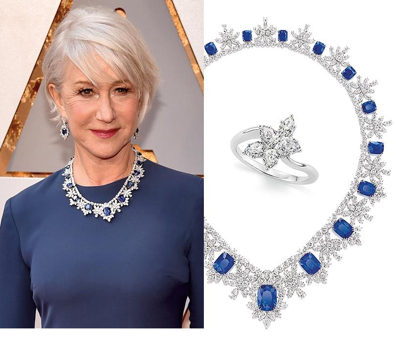 Часы &Караты: роскошные украшения церемонии «Оскар». Хелен Миррен