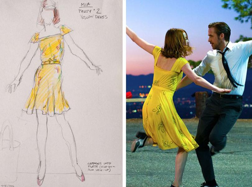 Style Notes: 5 образов из весенне-летних коллекций, вдохновленных фильмом «Ла-Ла Лэнд»