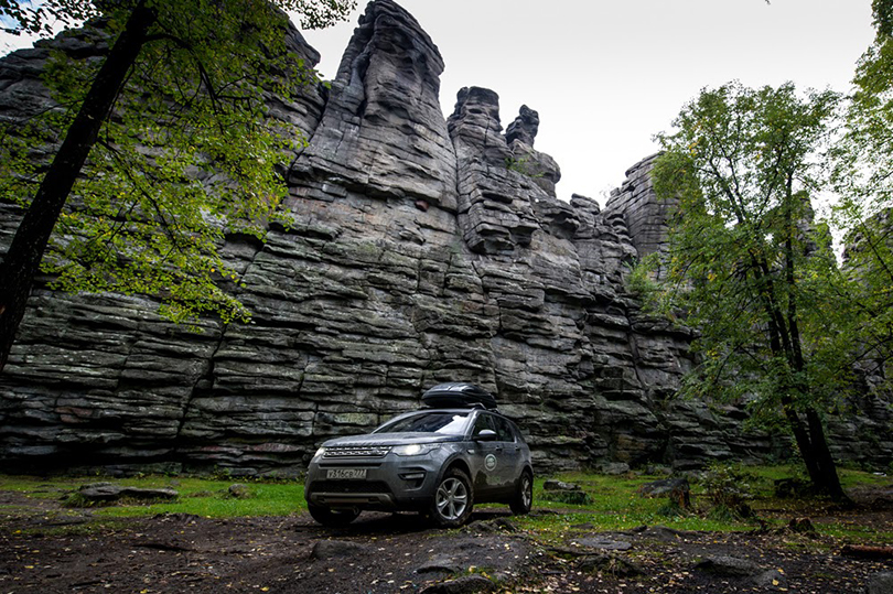 Авто: уральская экспедиция Land Rover Discovery Sport
