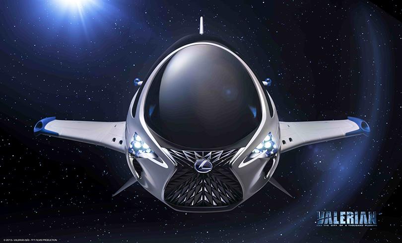 КиноТеатр: будущее где-то рядом. Автомобили икосмические корабли Lexus вкино