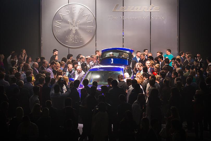 Светская хроника: первый кроссовер Maserati в Москве. Maserati Levante