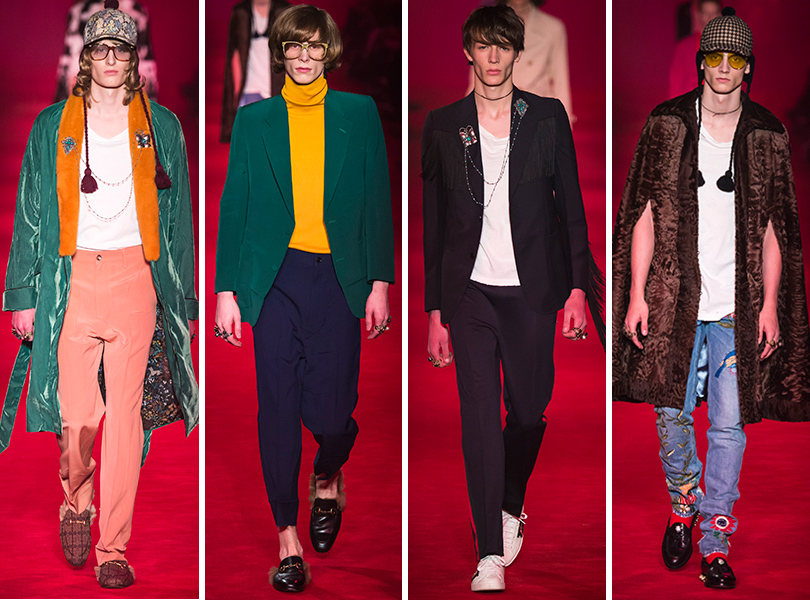 Первый план — лучшие показы на Неделе мужской моды в Милане: Gucci