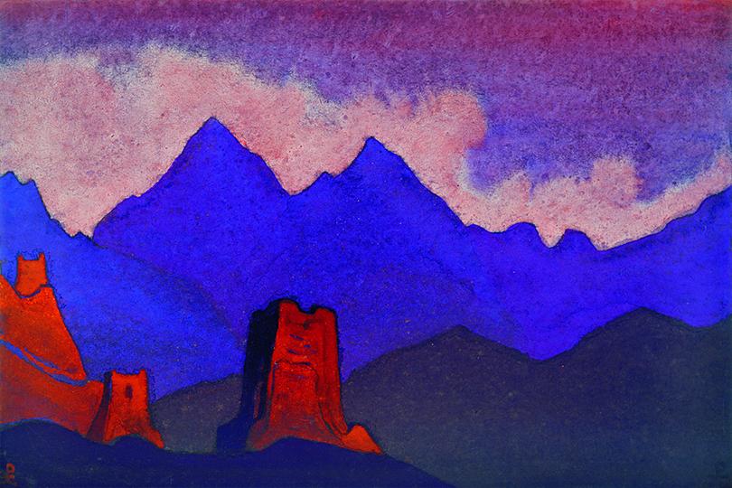 Art & More: последнее большое путешествие Николая Рериха. «Китайские башни»