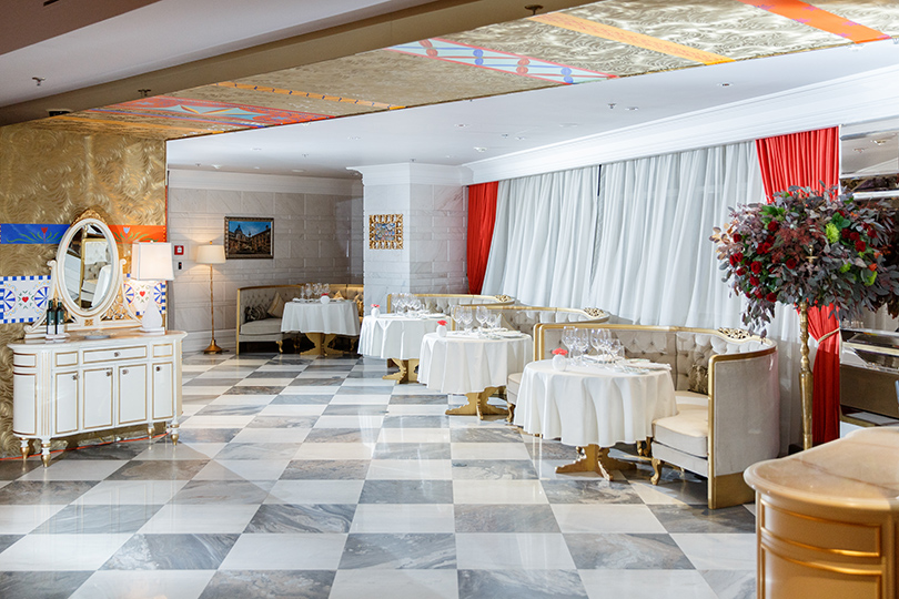 Ресторан OVO byCarlo Cracco открылся вLotte Hotel Moscow