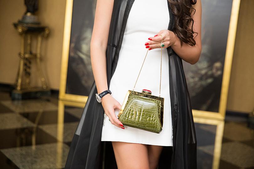 Business & Style: владелица итальянского бренда Rubeus Наталья Бондаренко. Сумка Petite Mydas