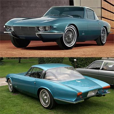 Семь главных машин легендарного автомобильного дизайнера Тома Тьярда. 1963— Chevrolet Corvette Rondine Pininfarina Coupé