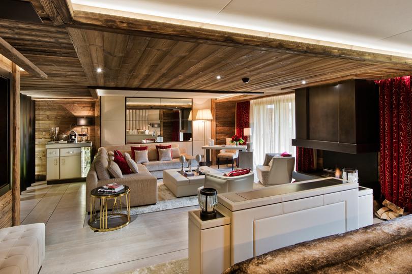 Идея на каникулы: Новый год в бутик-отеле Ultima Gstaad Resort Spa and Residence в Швейцарии