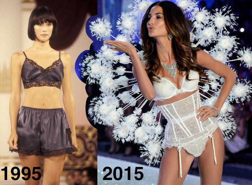 Style Notes: секреты Victoria's Secret. Как превратить бренд в культурный феномен? Показы Victoria's Secret в 1995 и 2015