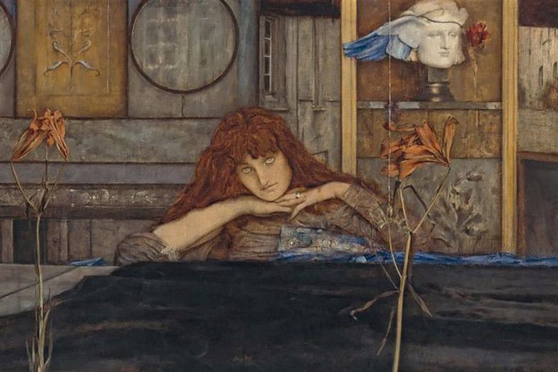 «Мистический символизм: Салон Розы и Креста в Париже, 1892–1897» Коллекция Пегги Гуггенхайм, Венеция, Италия До 7 января 2018 года