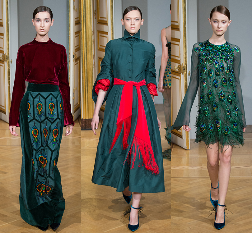 Style Notes: показ Yanina Couture FW17 в рамках Paris Haute Couture Week
