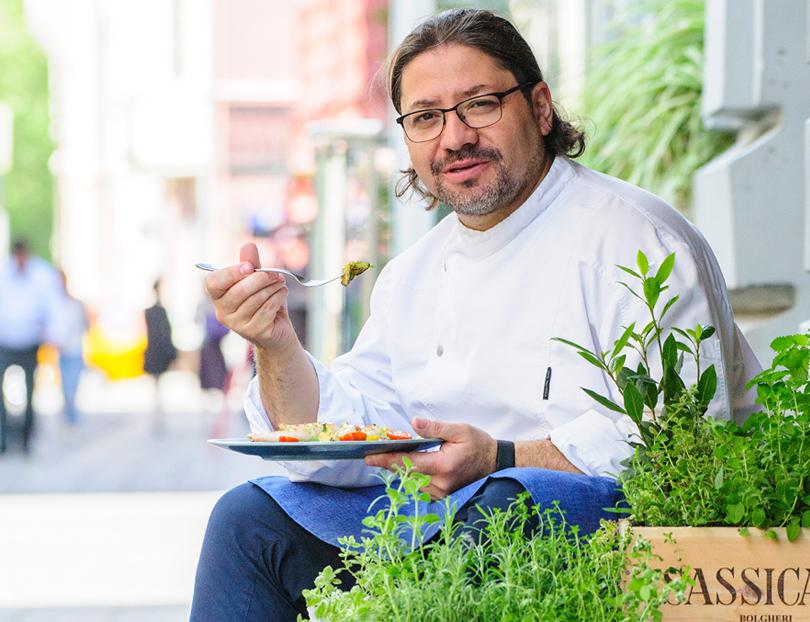 Эксклюзив Posta-Magazine: шеф-повар Адриан Кетглас— ополучении звезды Мишлен, высокой кухне для всех исекрете своего успеха