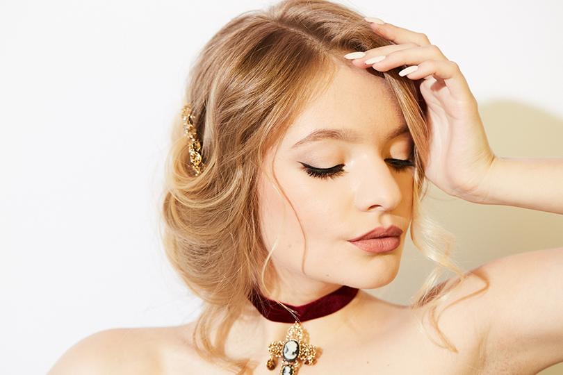 Total Beauty: макияж и укладки для выпускного бала — готовимся с Aldo Coppola. Лиза Пескова