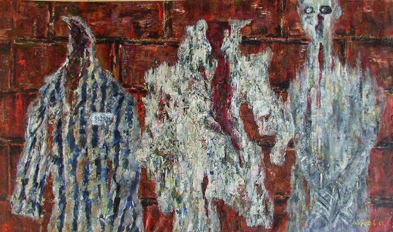 """«Студия """"Новая реальность"""" (1958-1991). Трансформация сознания». Александр Крюков. «Освенцим», 1965 г."""