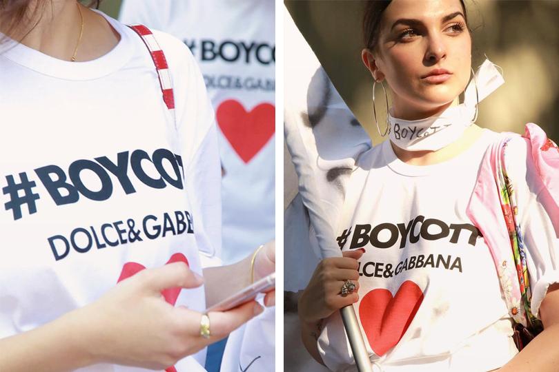 Горячие итальянцы Доменико Дольче иСтефано Габбана оказались впервом лагере: дизайнеры срадостью публикуют фото Меланьи водежде сэтикеткой бренда идаже называют еемузой марки, награждая хэштегом #DGWoman