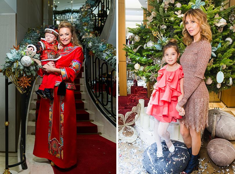 Виктория Шелягова, Анна Антимоний с дочерью Василисой