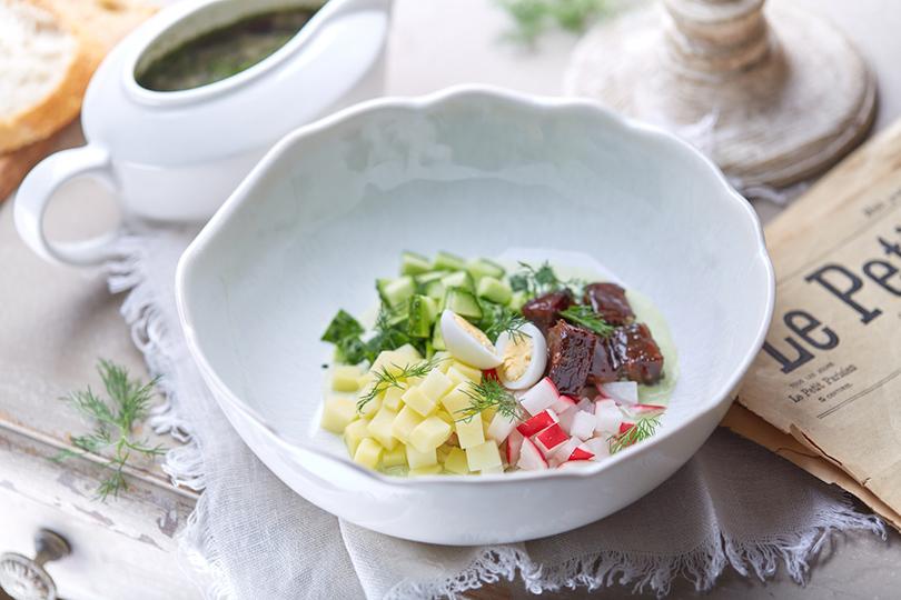 Всвоей тарелке: холодные супы вресторанах Москвы. «Хлебная лавка»