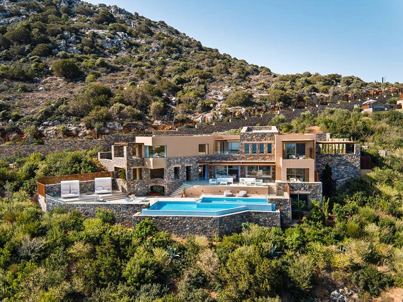 Идея на каникулы: греческая идиллия на вилле Daios Mansion