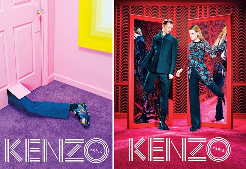 Кампания Kenzo, вдохновленная видением Дэвида Линча