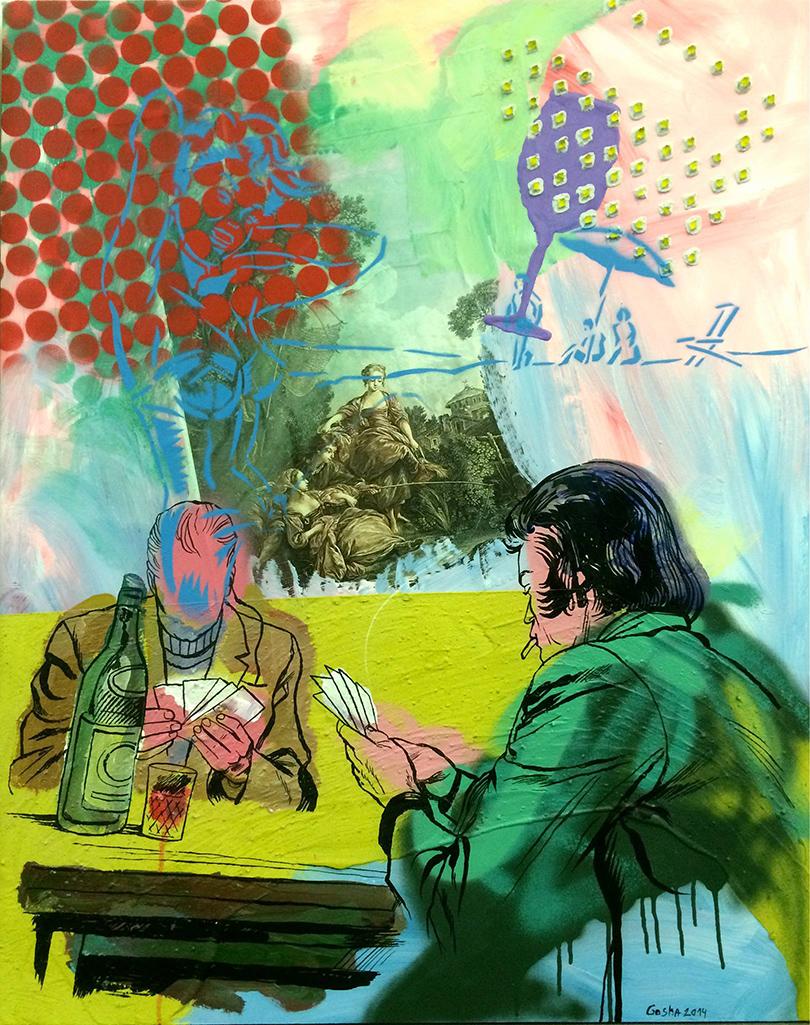 Выставка современного русского искусства Drawing: No Limits в Берлине:  «Завороженные», Гоша Острецов