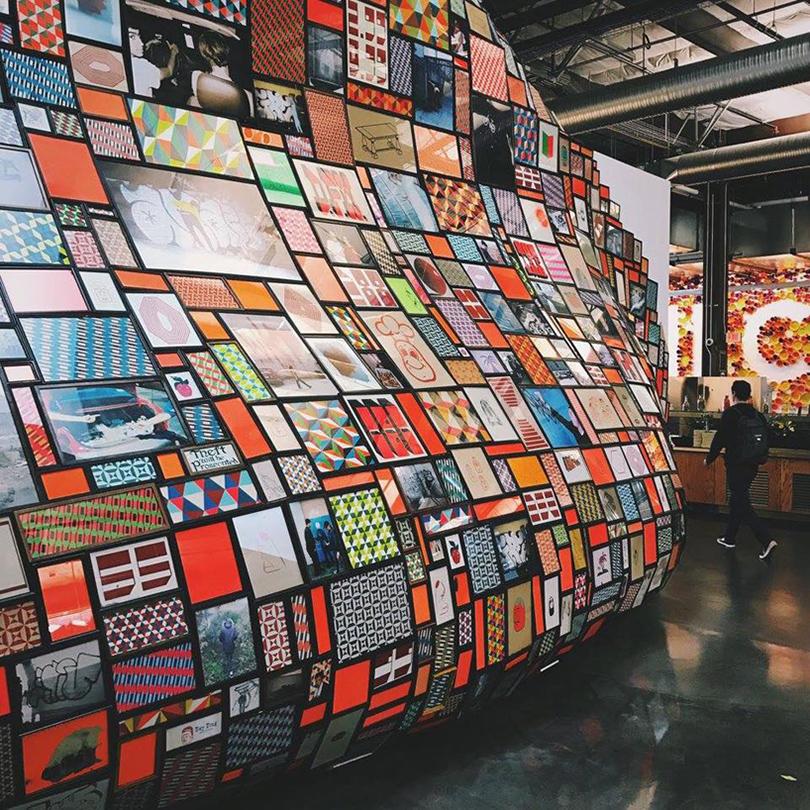 Дизайн & Декор: офисы Facebook — под контролем художников. Барри Макги