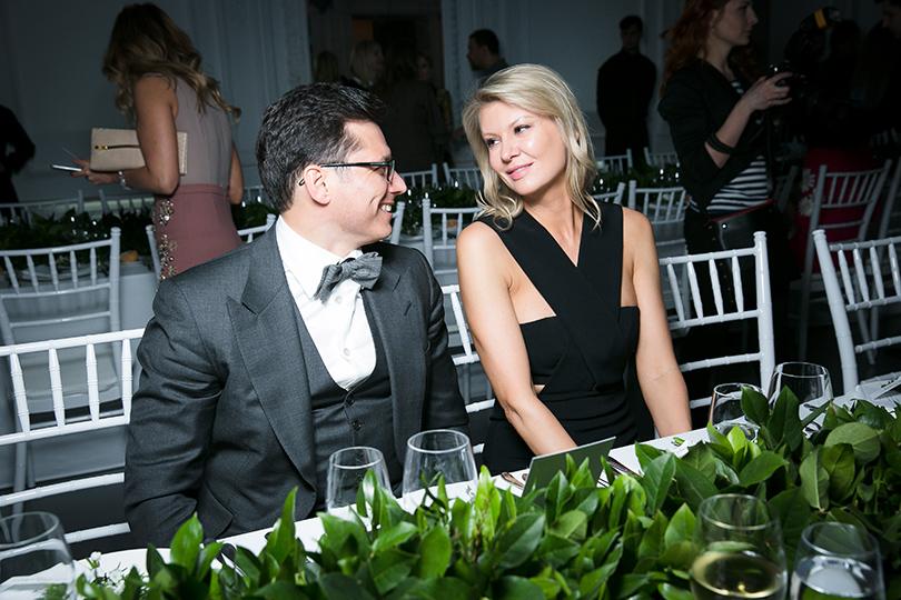 Закрытый ужин Vogue и бутика Farfetch: Антон и Виктория Борисевич