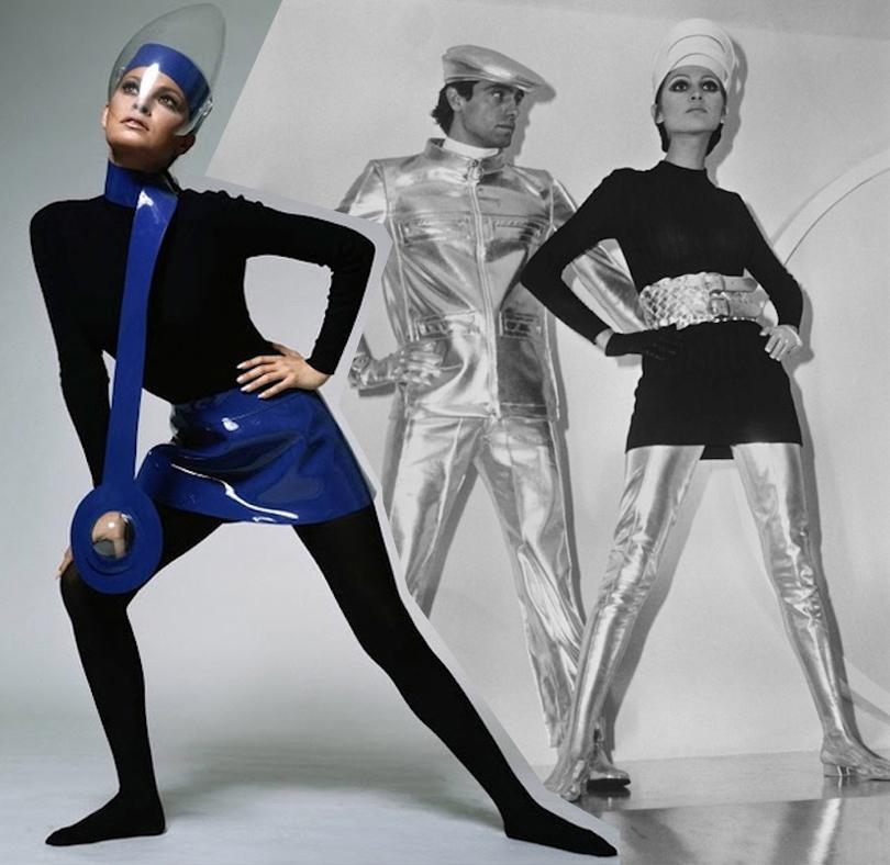 «Одежда будущего» Пьера Кардена, 1968 и1969 год