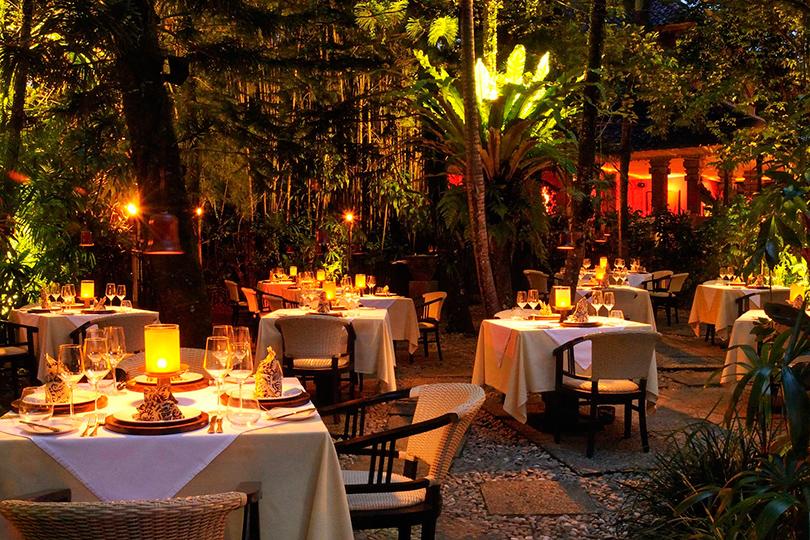 Отдыхаем на новых виллах Four Seasons Resort Bali: Mozaic Restaurant