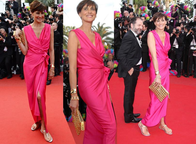Style Notes: французский подход. Как выделиться на красной ковровой дорожке — и не только? 2012 г. (со своим возлюбленным Дени Оливенном)