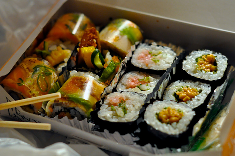 Набегу: лучшие рестораны ваэропортах инавокзалах. Sukiyabashi Jiro