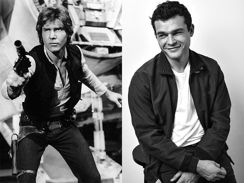 Men in Style: новый исполнитель роли Хана Соло в «Звездных войнах» — Олден Эйренрайк