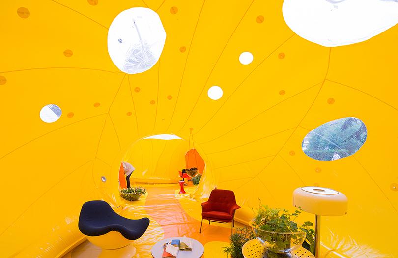 ВВеликобритании новый тренд поддержит спроектированное испанской архитектурной студией Dosis пространство под названием Second Dome вЛондоне