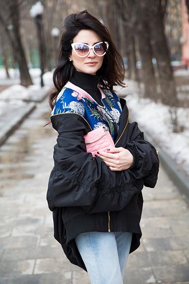 Style Notes сМариной Изиловой: один бомбер ишесть способов его носить