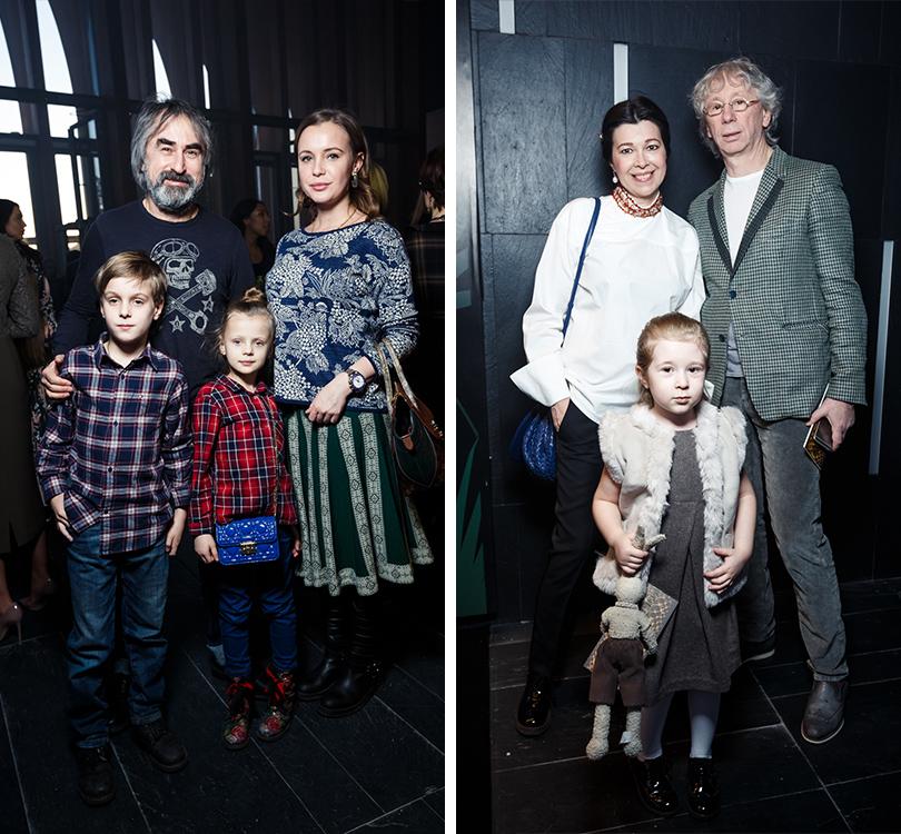 Александр Толмацкий и Аркадий Укупник с семьями