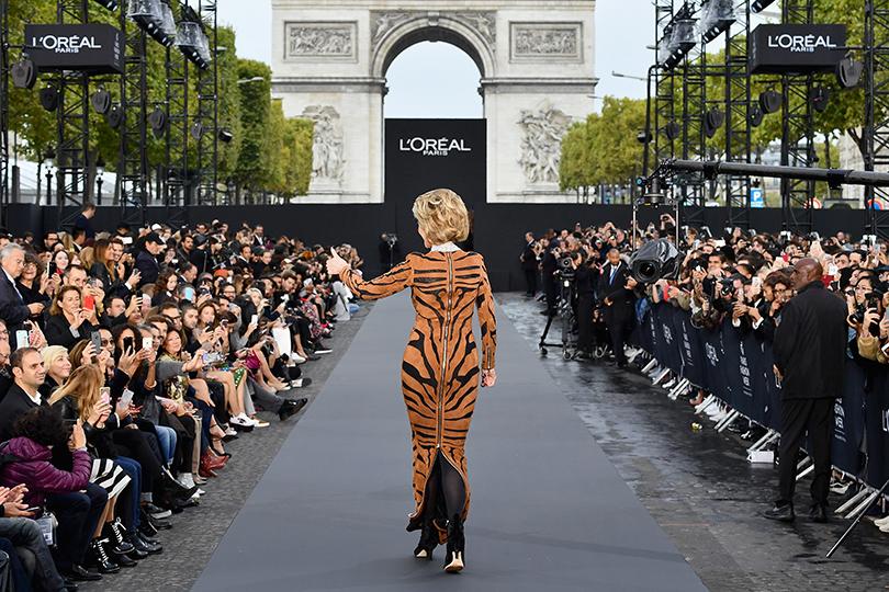 Напоказе L'Oréal Paris