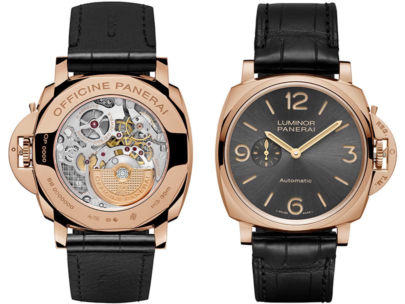 Часы & Караты: переосмысливая 50-е. Новая коллекция часов Luminor Due Officine Panerai