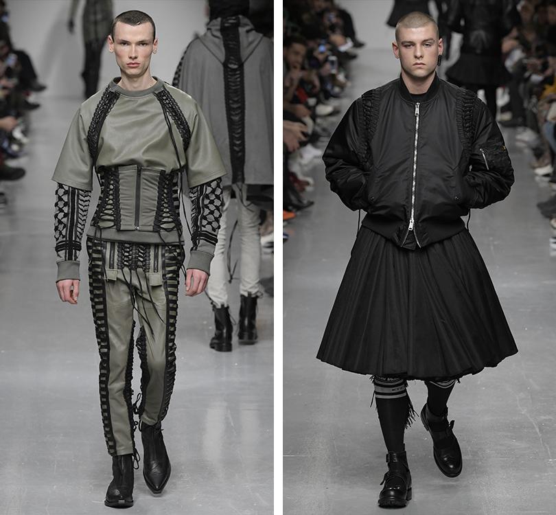 Men inStyle: самые эпатажные образы Недели мужской моды вЛондоне. KTZ