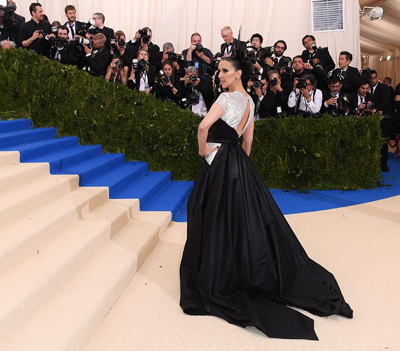 Торжественный бал Института костюма Met Gala 2017: Селин Дион вплатье Versace