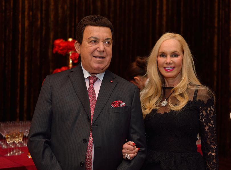 Иосиф Кобзон с женой Нелли