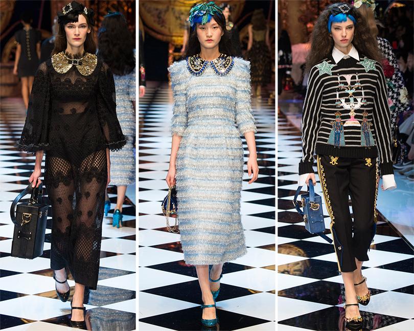 Избранные показы на Неделе моды в Милане 2016: Dolce & Gabbana