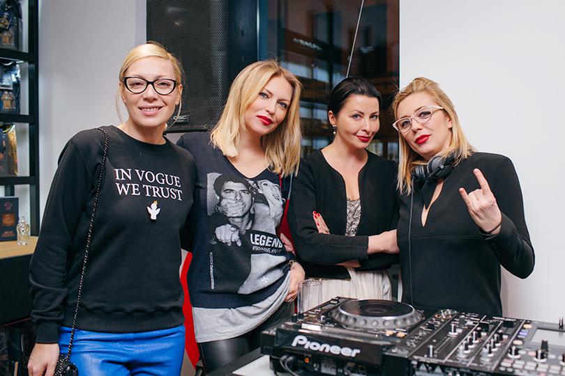 Открытие бутика «Molecule Project Патриаршие»: Аврора, Дарья Михалкова и Маргарита Митрофанова
