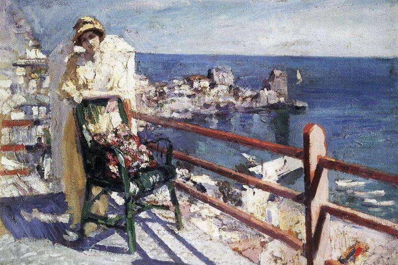 Говорящие картины вМузее русского импрессионизма