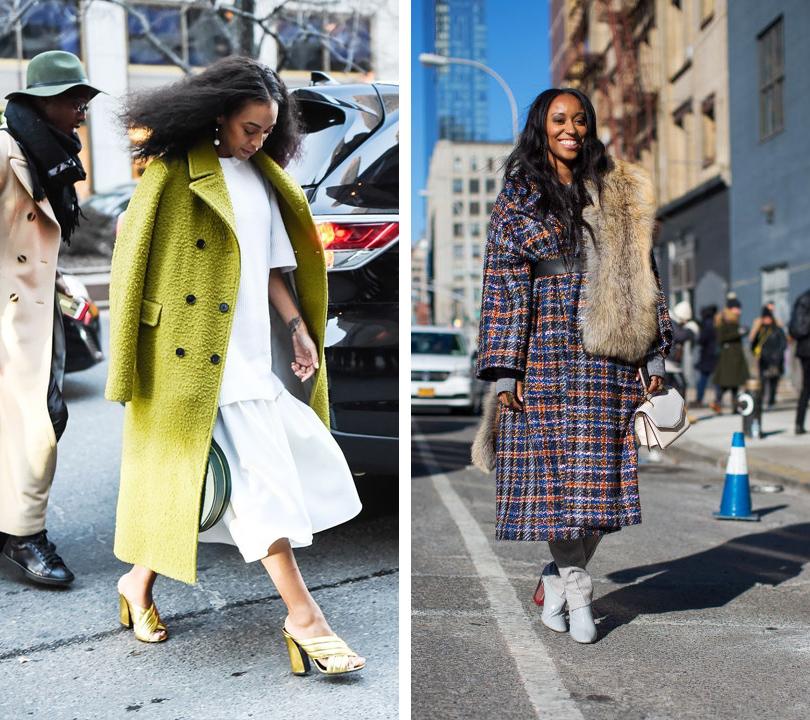 Лучшие образы на Неделе моды в Нью-Йорке: Соланж Ноулз, консультант по стилю Шиона Турини